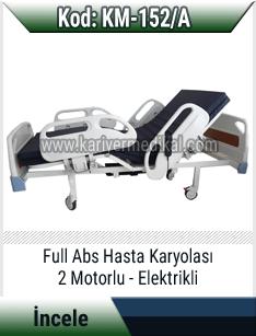 2 Motorlu Full Abs Hasta Yatağı