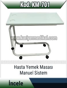 Hasta Yemek Masası Manuel